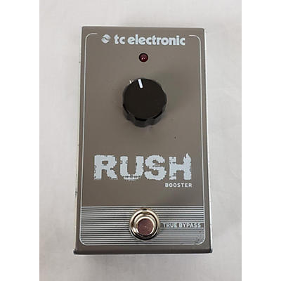 TC Electronic 2010s Rush Booster Effect Pedal