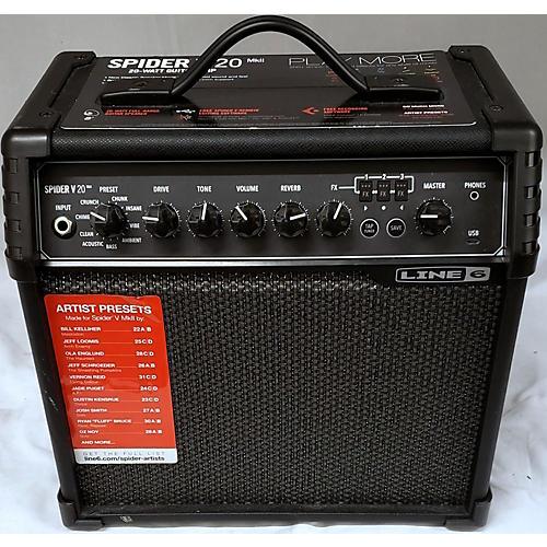 Line 6 2010s Spider V 20 Guitar Combo Amp