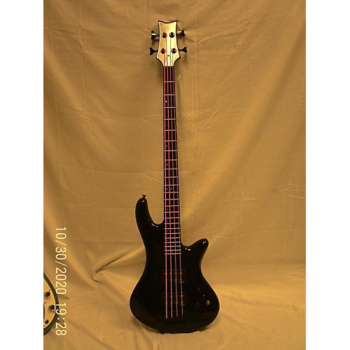 Schecter Guitar Research 2010s Stage 4 Electric Bass Guitar Black