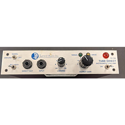 Summit Audio 2010s TD-100 Tube Direct Guitar Preamp