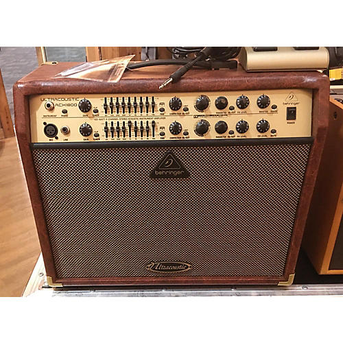 Behringer 2010s Ultracoustic ACX1800 Acoustic Guitar Combo Amp