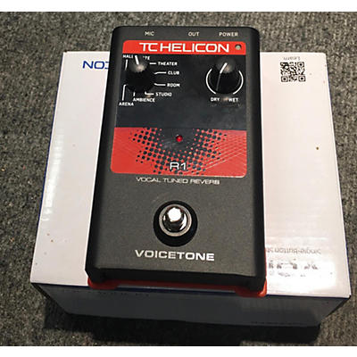 TC Helicon 2010s VOICETONE R1 Effect Pedal