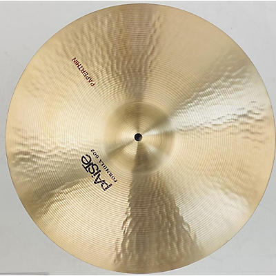 Paiste 2011 18in Formula 602 Classic Sounds Paperthin Crash Cymbal