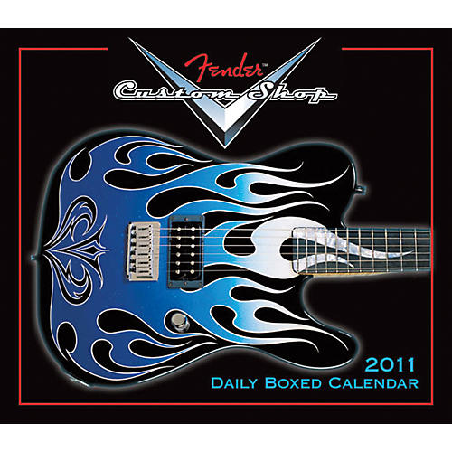 Fender 2011 Custom Shop Daily Calendar