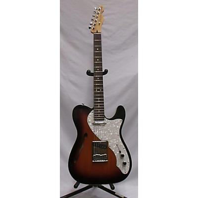 Fender 2011 Deluxe Thinline Telecaster Hollow Body Electric Guitar