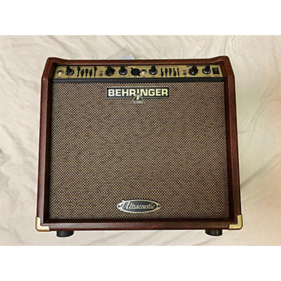 Behringer 2011 Ultracoustic ACX450 Acoustic Guitar Combo Amp