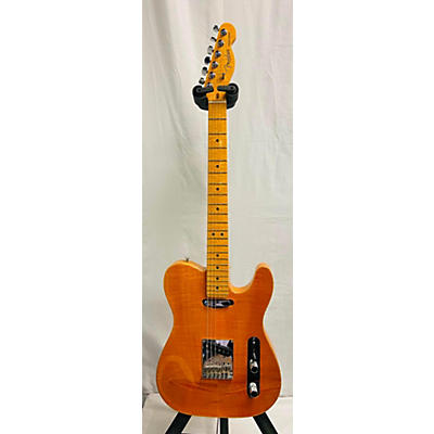 Fender 2012 American Select Flame Maple Carved Top Telecaster Solid Body Electric Guitar