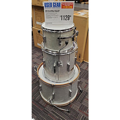 Ludwig 2012 CLUB DATE Drum Kit Silver Sparkle