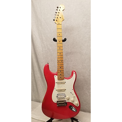 Fender 2012 Custom Shop 1957 Stratocaster Wildwood 10 Solid Body Electric Guitar Fiesta Red