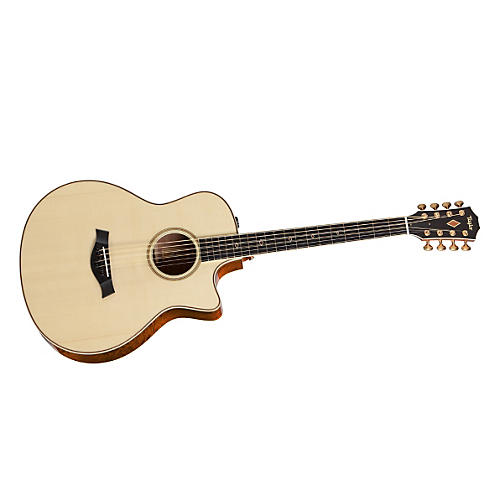 Taylor 2012 Fall Limited 8-String Baritone Sapele Acoustic-Electric Guitar