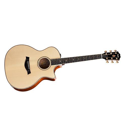 Taylor 2012 Fall Limited GAce-FLTD Grand Auditorium Quilt Sapele Acoustic-Electric Guitar