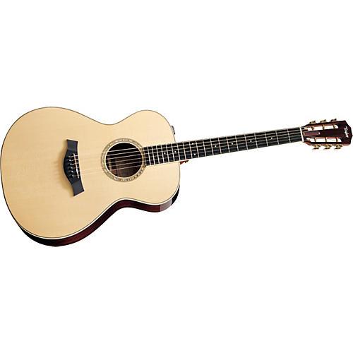 Taylor 2012 GA4e-12-L Ovangkol/Spruce Grand Auditorium 12-String Left-Handed Acoustic-Electric Guitar