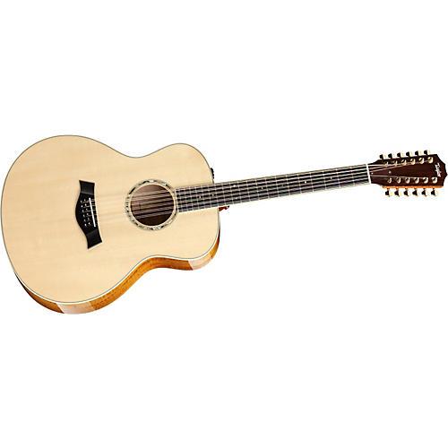 Taylor 2012 GA7e-L Rosewood/Cedar Grand Auditorium Left-Handed Acoustic-Electric Guitar
