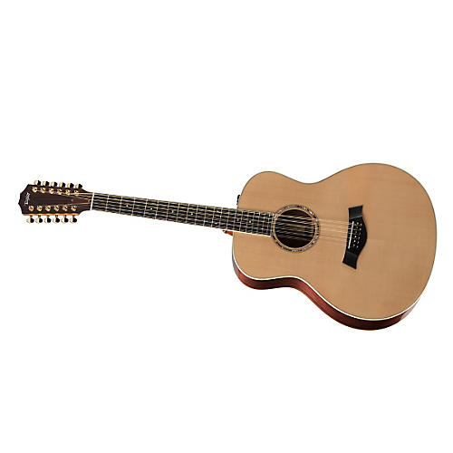 Taylor 2012 GS7e-12-L Rosewood/Cedar Grand Symphony 12-String Left-Handed Acoustic-Electric Guitar
