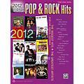 Alfred 2012 Greatest Pop & Rock Hits PVC Book thumbnail