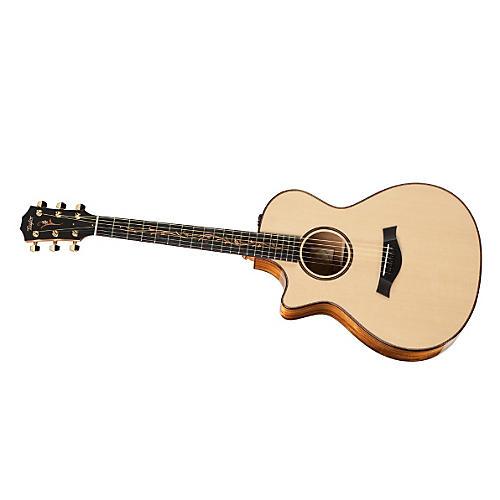 Taylor 2012 K12ce-L Koa/Spruce Grand Concert Left-Handed Acoustic-Electric Guitar