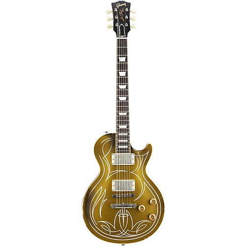 Gibson Custom 2013 Billy Gibbons Les Paul Goldtop Aged Electric Guitar