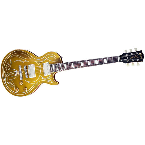Gibson Custom 2013 Billy Gibbons Les Paul Goldtop Aged/Signed Electric Guitar