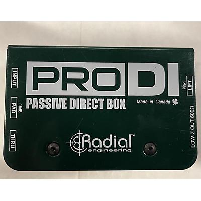 Radial Engineering 2013 PRO Direct Box