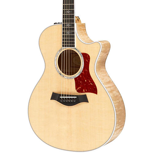 Taylor 2014 612ce Maple/Spruce Grand Concert Acoustic-Electric Guitar