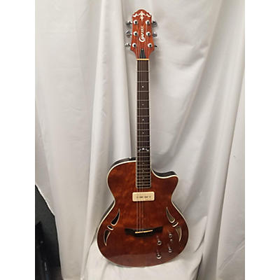 Crafter Guitars 2014 Sa-bub Hollow Body Electric Guitar