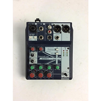 Soundcraft 2014 Soundcraft Notepad-5 Powered Mixer