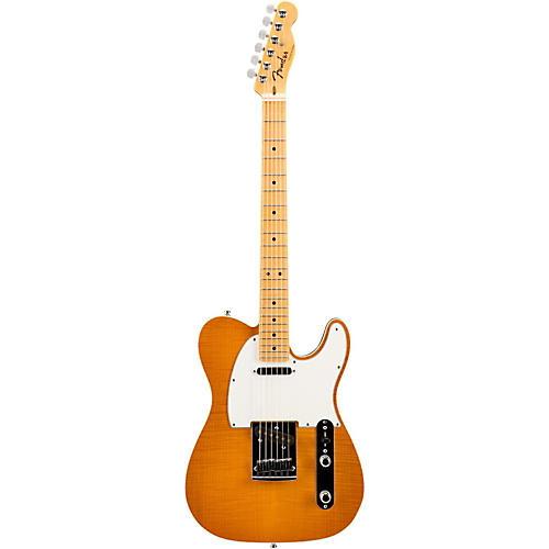 Fender Custom Shop 2015 American Custom Telecaster Flame Maple Top Electric Guitar