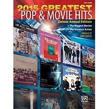 Alfred 2015 Greatest Pop & Movie Hits Easy Piano Book