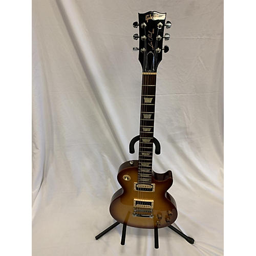 Gibson 2015 Les Paul Studio Deluxe Solid Body Electric Guitar Honey Burst