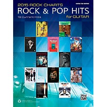 Alfred 2015 Rock Charts: Rock & Pop Hits for Guitar - Guitar TAB Edition Songbook