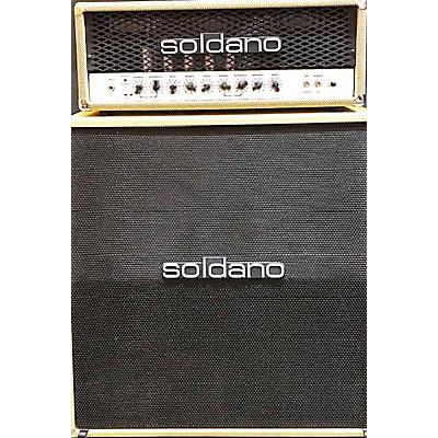 Soldano 2016 SLO100 Texas Tweed Ltd Edition Guitar Stack
