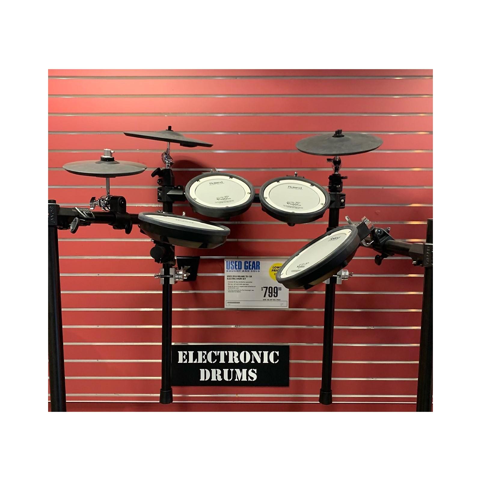Roland 2016 TD-15K Electric Drum Set
