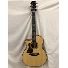 Taylor 2017 714CE Left Handed Acoustic Electric Guitar
