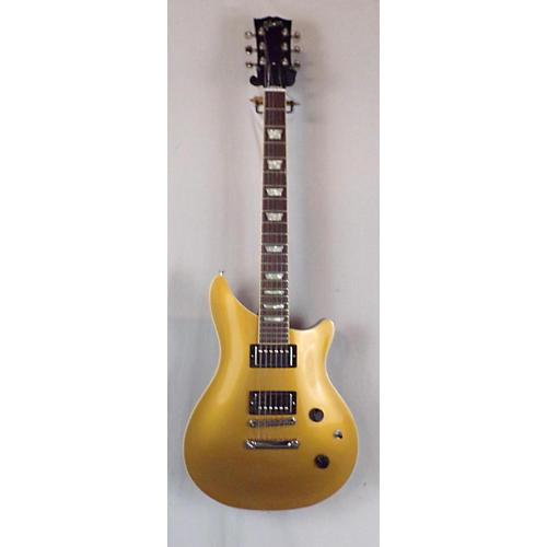Gibson 2017 Custom Shop Modern Double Cutaway Solid Body Electric Guitar Gold Top