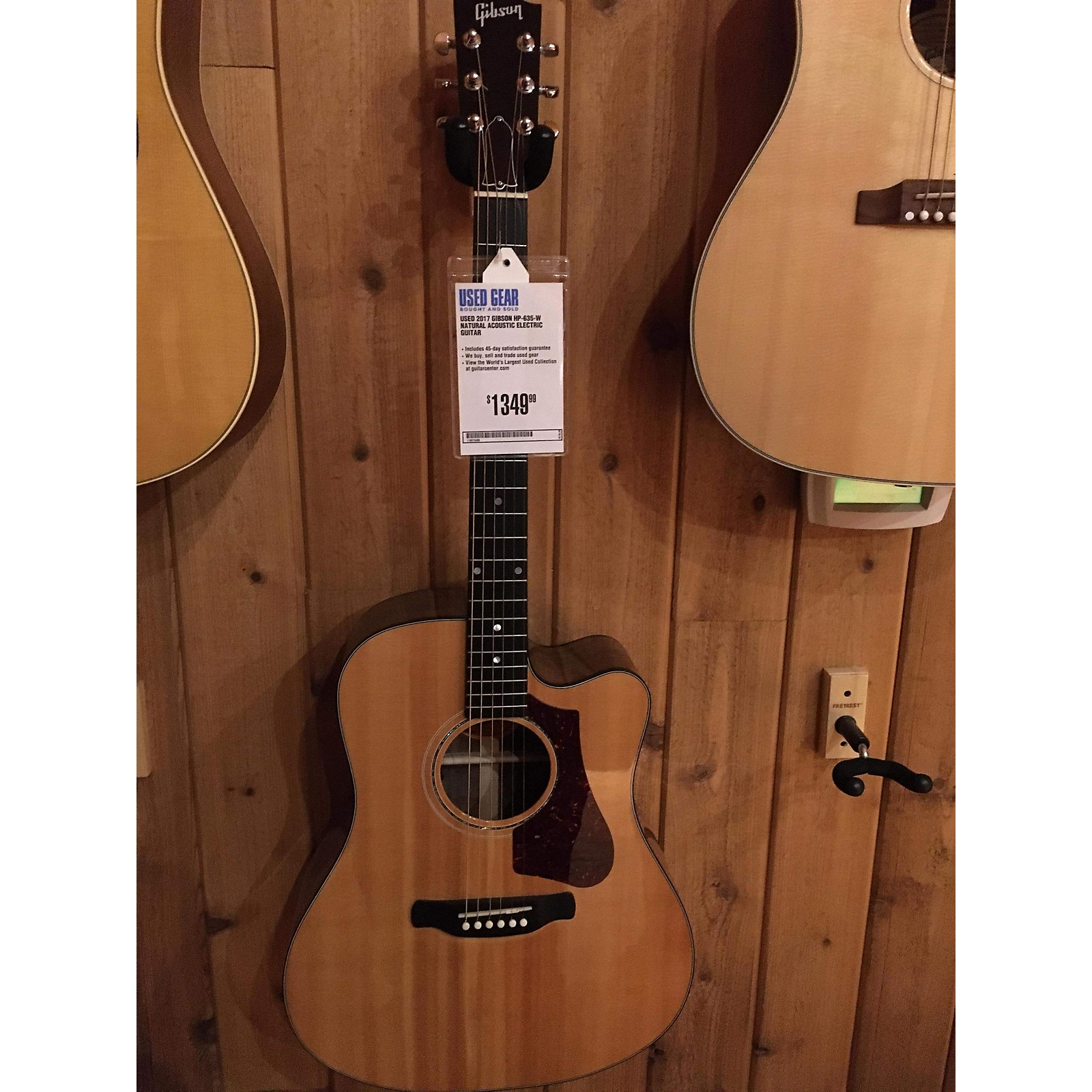 Gibson 2017 HP-635-W Acoustic Electric Guitar