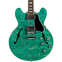 2017 Limited Edition ES-335 Figured Semi-Hollow Electric Guitar Green 5-ply Black Pickguard