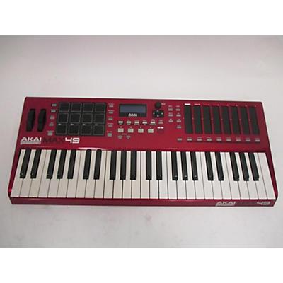 Akai Professional 2017 MAX49 49 Key MIDI Controller