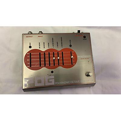 Electro-Harmonix 2017 Polyphonic Octave Generator Effect Pedal