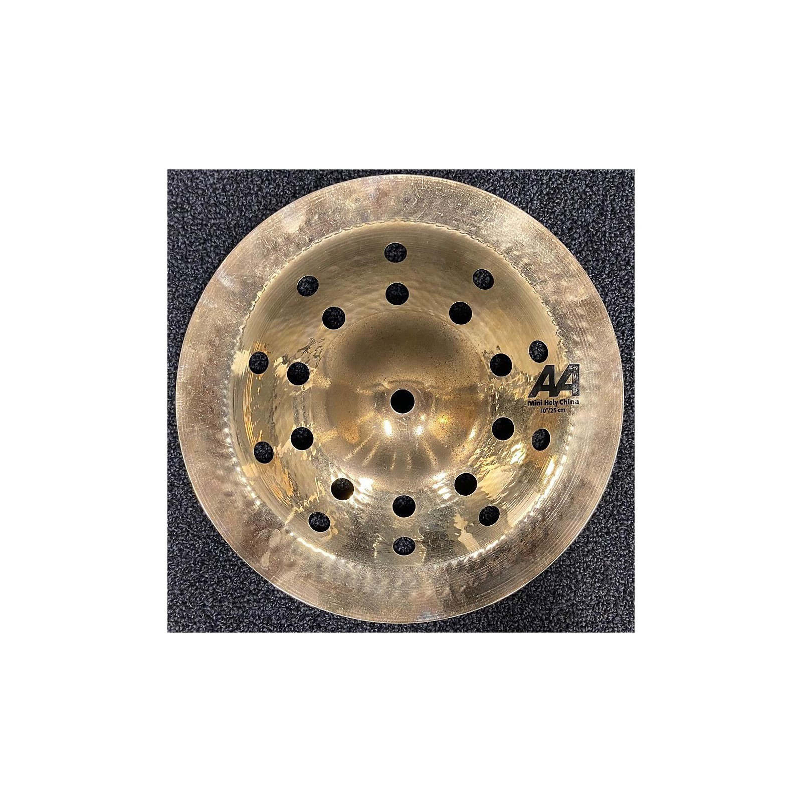 Sabian 2018 10in AA Holy China Brilliant Cymbal