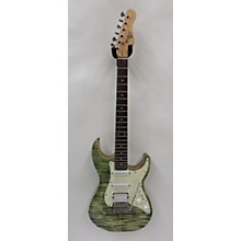Michael Kelly 2018 1963 HSS DOUBLE CUT FLAME GREEN Solid Body Electric Guitar