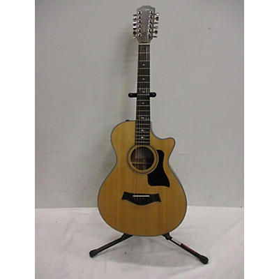 Taylor 2018 352CE 12 String Acoustic Electric Guitar