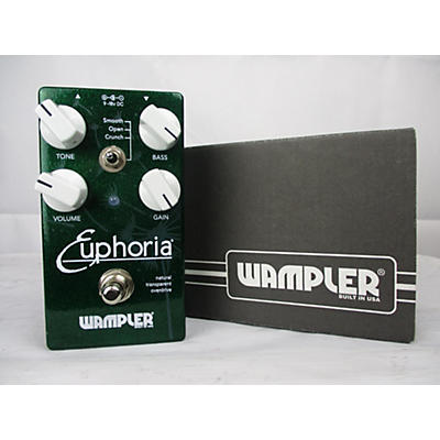 Wampler 2018 Euphoria Overdrive Effect Pedal