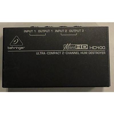 Behringer 2018 HD400 Feedback Suppressor