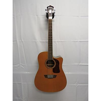 Washburn 2018 HD71SC Acoustic Electric Guitar
