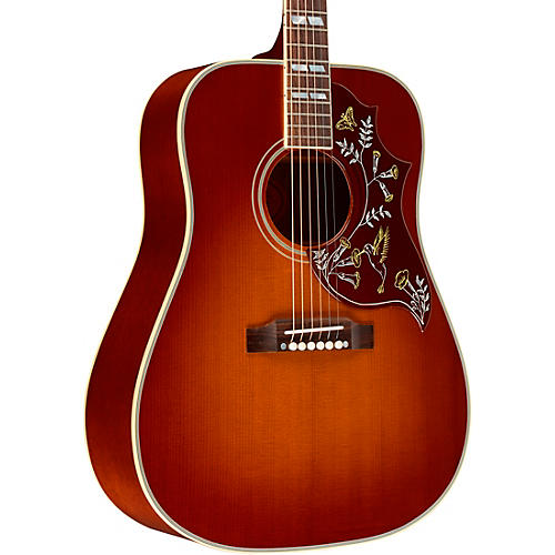 gibson 2018 hummingbird vintage acoustic guitar cherry burst musician 39 s friend. Black Bedroom Furniture Sets. Home Design Ideas