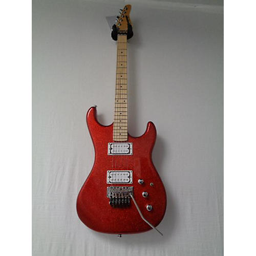 Kramer 2018 Pacer Vintage Reissue Solid Body Electric Guitar Metallic Candy Red