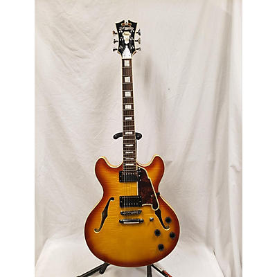 D'Angelico 2018 Premier Series DC Hollow Body Electric Guitar