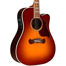Gibson 2018 Songwriter Studio EC Burst Acoustic-Electric Guitar