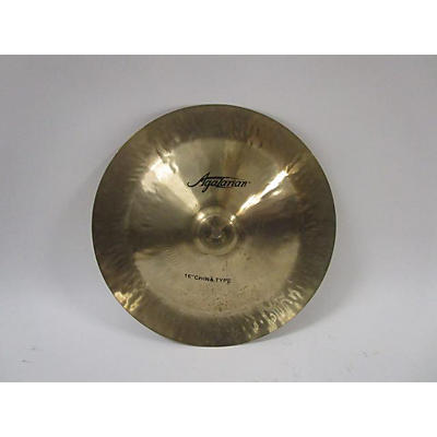 Agazarian 2019 16in Traditional China Cymbal