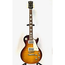 Gibson 2019 1960 Les Paul Standard VOS Figured Solid Body Electric Guitar